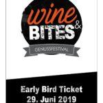 29. Juni 2019 |WINE & BITES