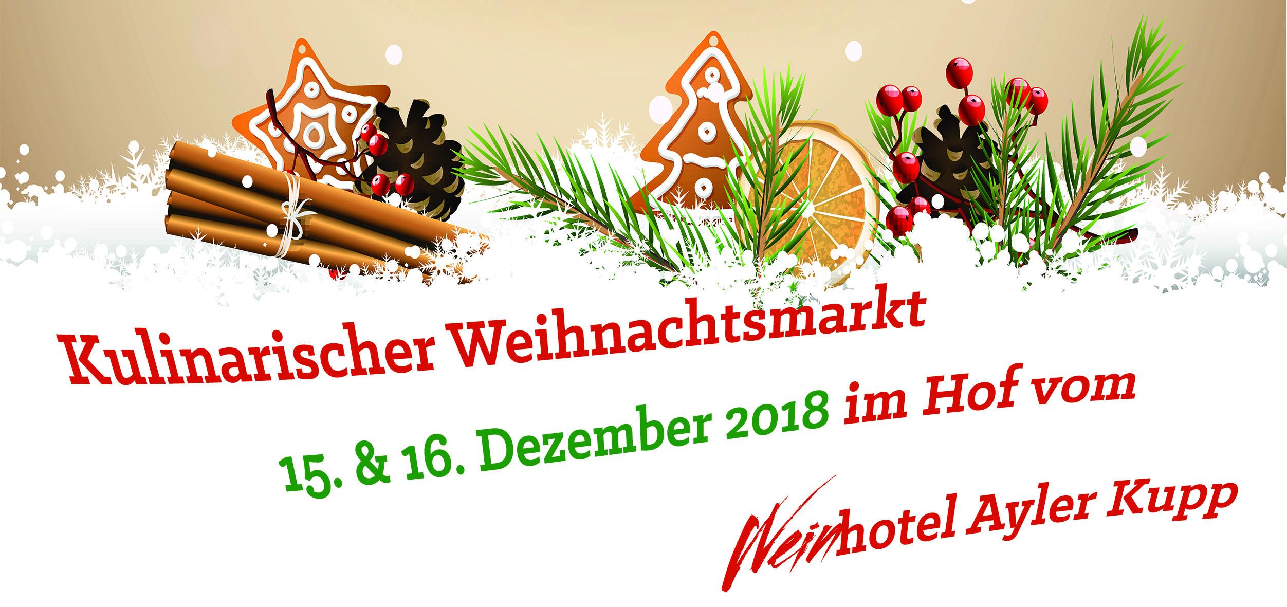 Ayler Weihnachtsmärkte 2019